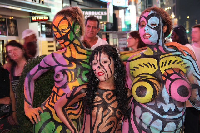 Body painting in new york