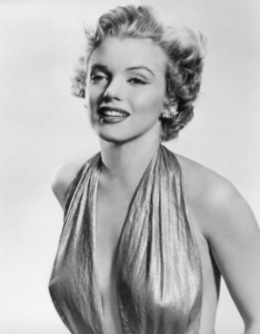 famous ladies, marilyn monroe