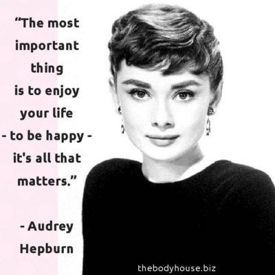 vintage varlet audrey hepburn quote movie star