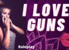 i love guns, erotic audio, audio porn, mature female voiceover, custom audio, sexy MP3